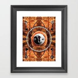 """Key To Mother Earth"" Framed Art Print"