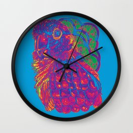 Summer Electric Conure Wall Clock