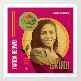 Beyond Curie: Farida Bedwei Art Print