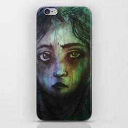 Charcoal Portrait (Unrecognizable) iPhone Skin