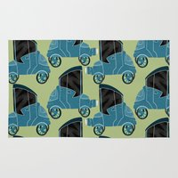 cars Area & Throw Rugs featuring Cars by Cliodhna Ztoical