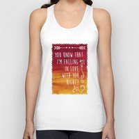 fangirl Tank Tops featuring Fangirl by solMKC