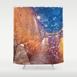 Acrylic Lights of Paris Shower Curtain