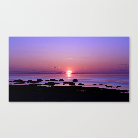 Beauty on the Saint-Lawrence Canvas Print