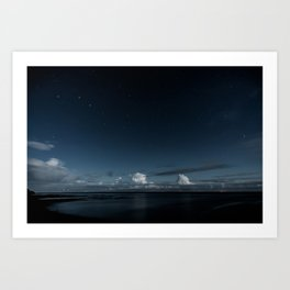 Night Coast Art Print