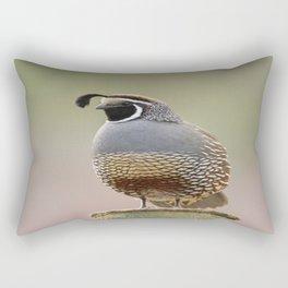 California Quail Rectangular Pillow