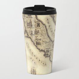 Vintage map of Italy Travel Mug