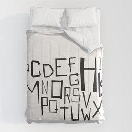 Alphabet #2 Comforters