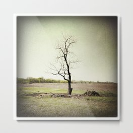 Flint Hills, Kansas Metal Print