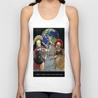caleb troy Tank Tops featuring TROY by LIGGYZIGHAT