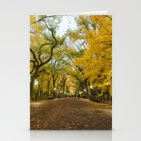 literary Stationery Cards featuring Central Park New York City by Vivienne Gucwa