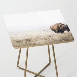 Bison stance Side Table