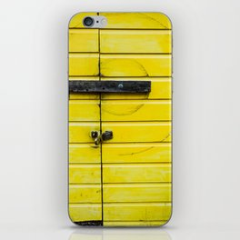 Yellow Compas iPhone Skin