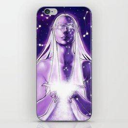 Goddess of the stars iPhone Skin