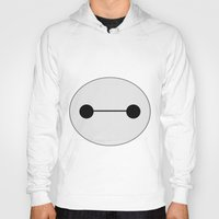 baymax Hoodies featuring Baymax by BlondieAu