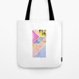 Collaged Tangram Alphabet - I Tote Bag