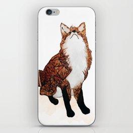 Fox Art, Watercolor Art, Animal Art, Woodland Animal iPhone Skin