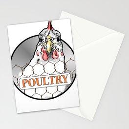Poultry Stationery Cards
