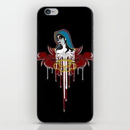 Day of the Dead Saint iPhone Skin