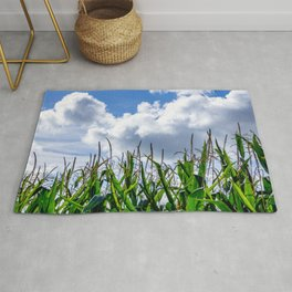 The corn grows to the sky Rug