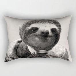 Gentleman Sloth #3 Rectangular Pillow