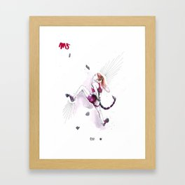 Sleek Scorpio Framed Art Print