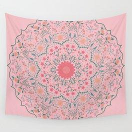 Flower Rounds Mandala Wall Tapestry