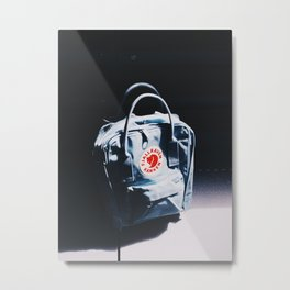 Fjallraven Kanken Backpack Metal Print