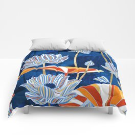 Bold Botanical Comforters