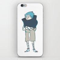 sasuke iPhone & iPod Skins featuring Sasuke by kosheko