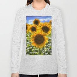 Sunflowers Summer Days Long Sleeve T-shirt