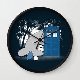 Curious Forest Spirits Wall Clock