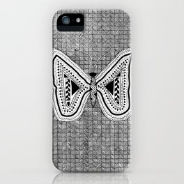 Hopeful Butterfly iPhone Case