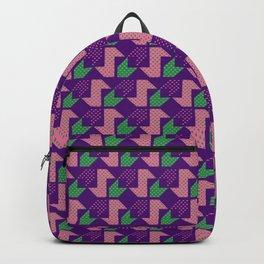 Clover&Nessie_Lavender&Mauve Backpack