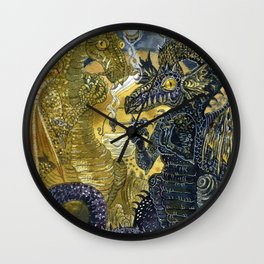 Dragon's Lair Wall Clock