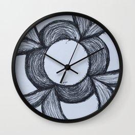 Flor de Barcelona Wall Clock