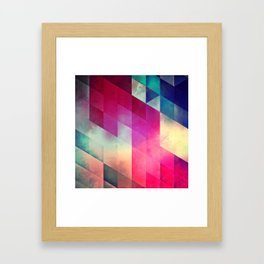 byy byy july Framed Art Print