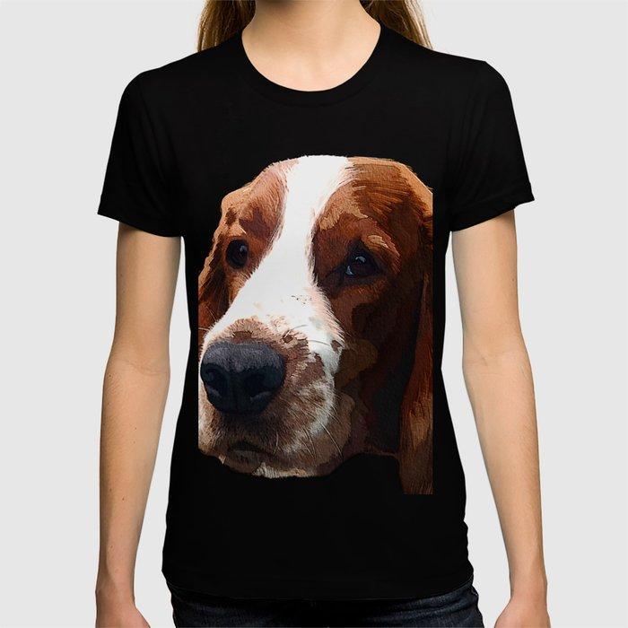 Welsh Springer Spaniel Art T-shirt