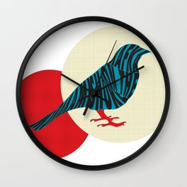 Kafka on the Shore (Raven), Haruki Murakami Wall Clock