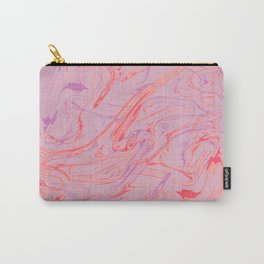 Adrift - Abstract Suminagashi Marble Series: 01 Carry-All Pouch