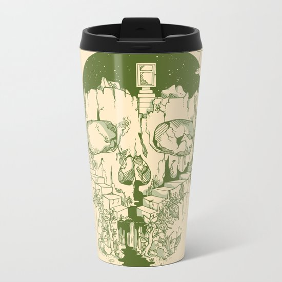 Inside My Head Metal Travel Mug