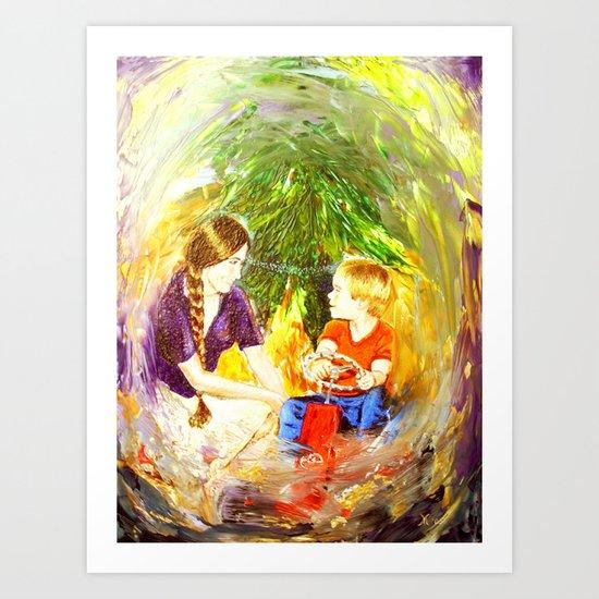 Our Christmas Art Print