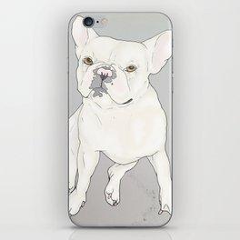 """Frenchie Love"" iPhone Skin"