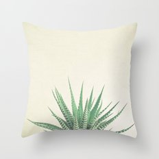 Haworthia Throw Pillow