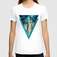 nordic T-shirts featuring NORDIC LIGHTS by RIZA PEKER