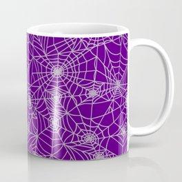 Purple Cobwebs Coffee Mug