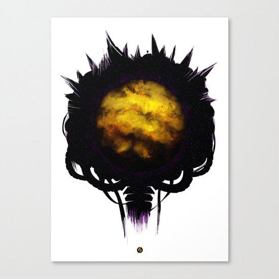 Zebes Canvas Print