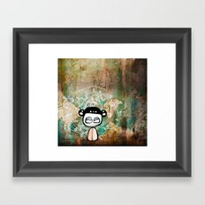 grunge Framed Art Print