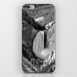 The Lower Yellowstone Falls iPhone Skin