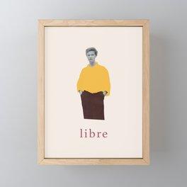 Libre (Free) Framed Mini Art Print